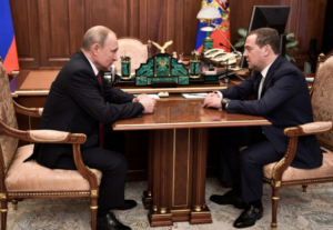 Putin announced reform to Russian Government. 2