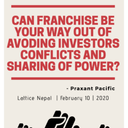 Can Franchise Be Your Way out of Avoiding Investors' Conflicts and Sharing of Power? 15