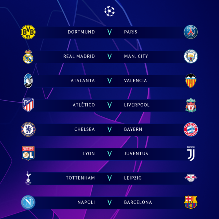 Champions League Round Of 16: Who will be smashed? 1