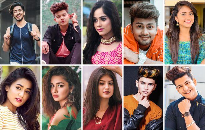 Top five TikTok star in India 2020 1