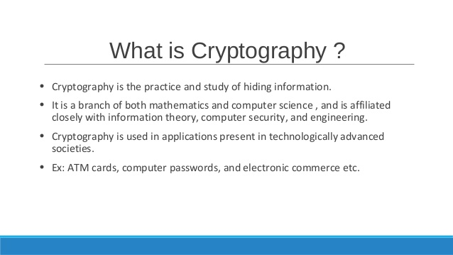 What Is Cryptography? How It Is Implemented In Securing The Information? 2