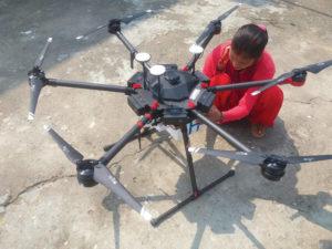 Drone in Nepal